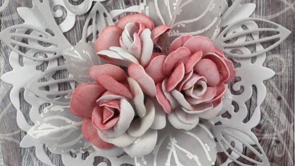 Realistic Foam Flowers