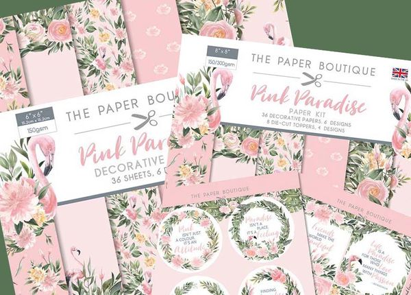Paper Boutique One Sheet Wonder Challenge