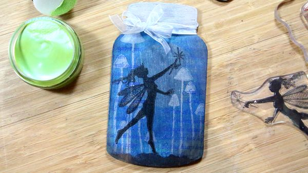 MDF Fairy in a Bottle