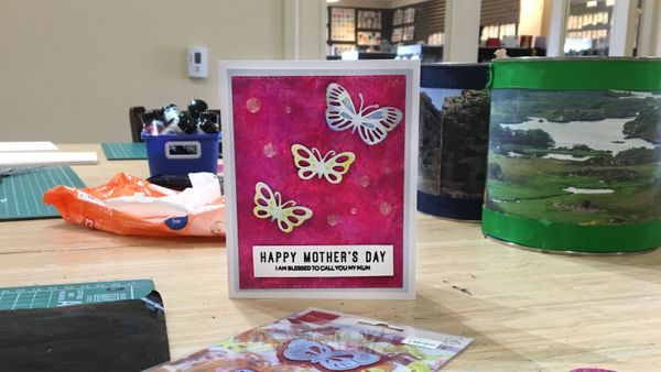 Kaleidoscope Mother's Day Card