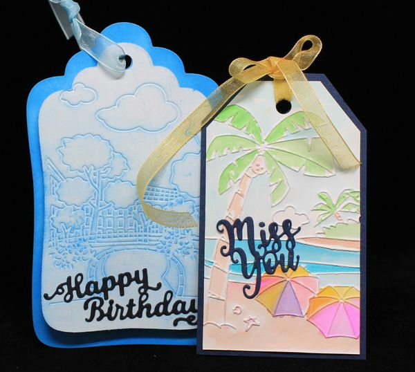 Getting Creative with Your Embossing Folders