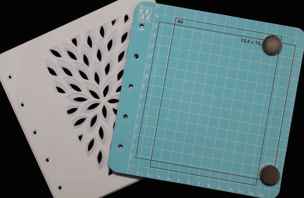 Nellie's Choice Magnetic Stencil Colour Set