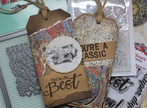 Virtual Open House - Men's Gift Tags