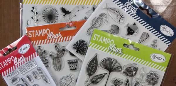 New Aladine Stampo Clear Stamps